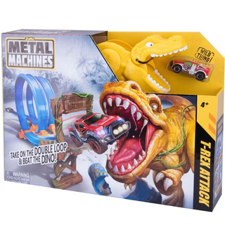Pista Dinosaurio Doble Metal Machines Dino Auto Zuru Wheels