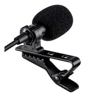 Microfono Lavalier Para Mac Lapel Microphone With Easy Clip