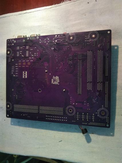 Placa Mãe Megaware Mw-gf7050 Cprocessador E Cooler