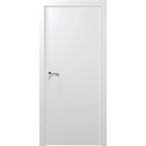 Kit Porta De Madeira Lisa Primer 210cmx60cm Moldufama Bh