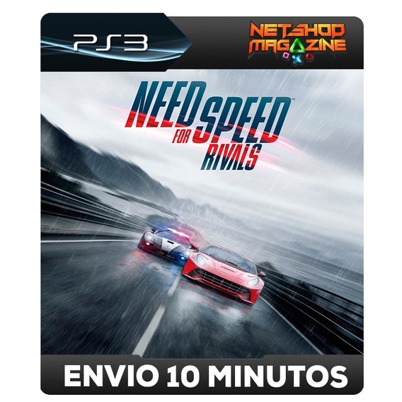 Need For Speed Rivals - Português - Psn Ps3 - Envio Imediato