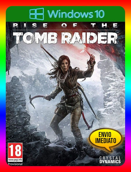 Rise Of The Tomb Raider Pc Windows 10 (envio Já)