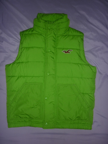 E Chaleco Inflable Hollister Verde Talle M Art 72587