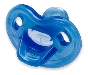 Chupeta Nuk Genius 100% Silicone Azul 0-6m