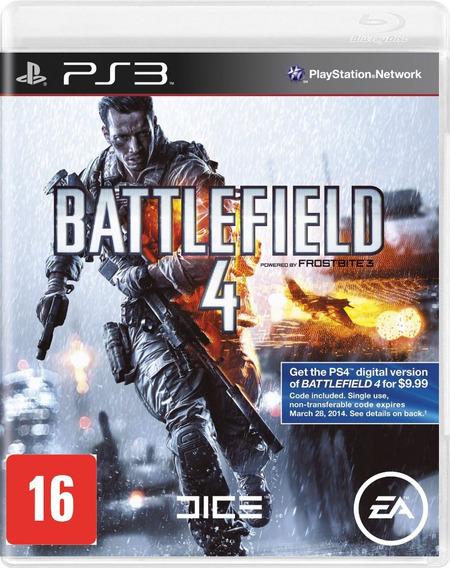 Battlefield 4 Ps3 Jogo Original Mídia Física Em Português