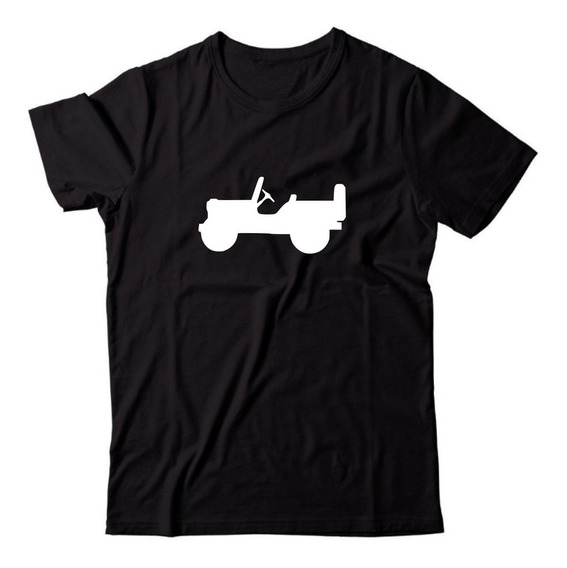 Camiseta Personalizada Willys 4x4 Off-road Jeep Troller