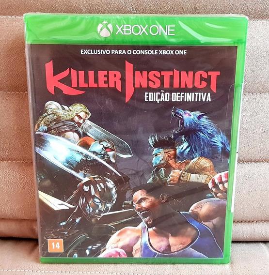 Xbox One Killer Instinct Edição Definitiva ( Mídia Física )