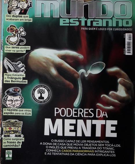 Revista Mundo Estranho Nº 120 - Janeiro/2012