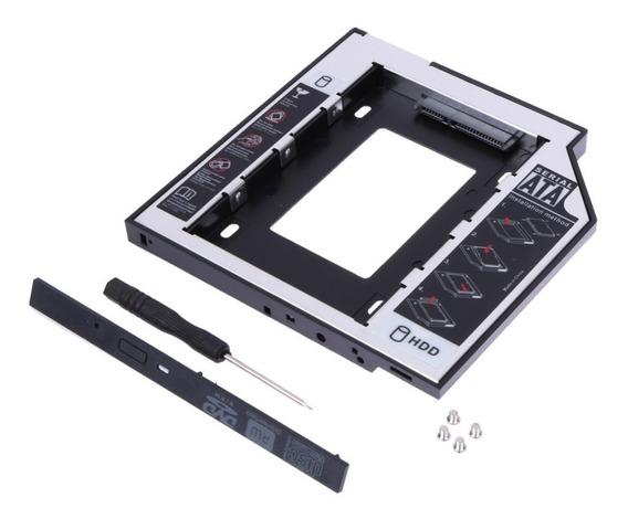 Adaptador Caddy Hd Ssd Sata Case Gaveta Dvd Notebook 12,7mm