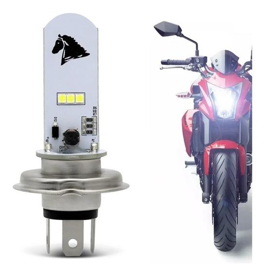 Lâmpada Led Farol H4 Moto Xre 300 Falcon Titan 125 150 160.