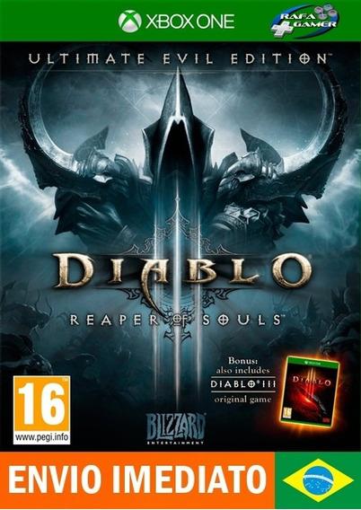 Diablo 3 Iii Português - [* Jogos Xbox One Digital Online *]