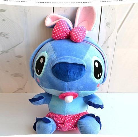Bebe Stitch De Pelúcia Plush Macio 20 Cm Novo Disney Store