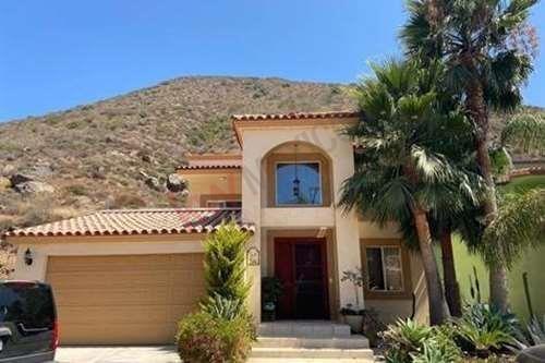 Casa En Venta Residencial Privado Con Campo De Golf, Ensenada Baja California. Amueblada $225,000 Dlls