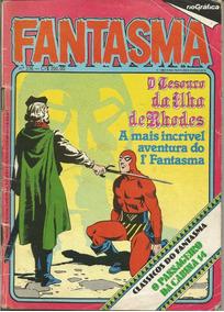 Gibi - Fantasma Nº 336 / O Tesouro Da Ilha De Rhodes