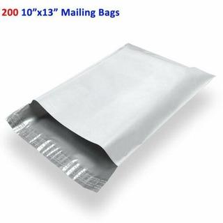 200 10 X 13 Poly Sobres Bolsas Envío Sobres Autoadhesiv-2582