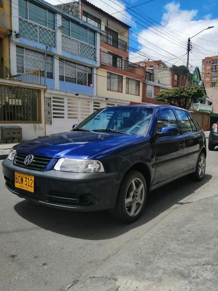 Volkswagen Gol Motor 1.8 Color Azul Índigo 4 Puertas