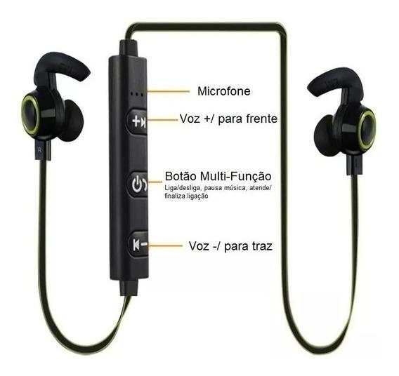 Fone De Ouvido Bluetooth Sport Amw-810 Treino Caminhada