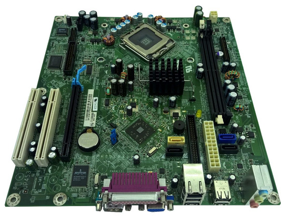 Placa Mãe Dell Optiplex 320 Dt Lga:775 Ddr2 P/n: 0tw969