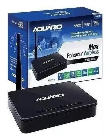 Roteador Aquario Wireless 4portas 150mbps Apr-2410 100% Novo