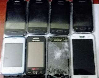 Lote 08 Celulares Samsung - Ver Descrição
