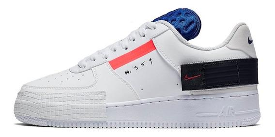Tenis Nike Air Force 1 One Low Drop Blancos Originales