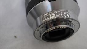 Lente Sony Zoom Sel 18-200 E-mount Completa