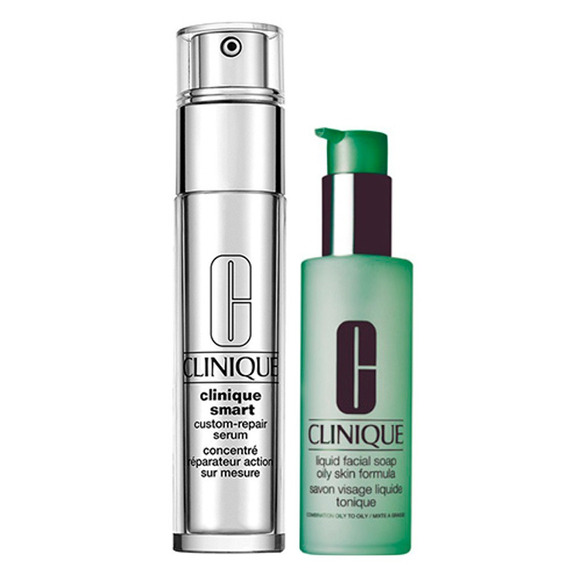 Clinique Sabonete Líquido + Anti-idade Para Olhos Kit - Liqu