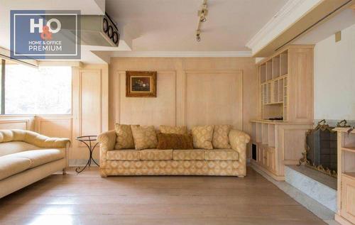 Imagem 1 de 20 de Apartamento Com 4 Dormitórios, 369 M² - Venda  Ou Aluguel - Vila Suzana - São Paulo/sp - Ap2448