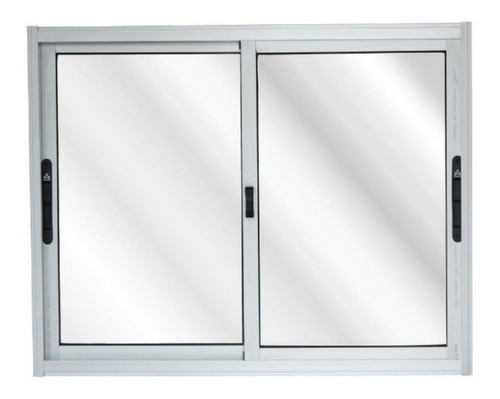 Imagen 1 de 2 de Ventana Aluminio 1x1  Serie 20