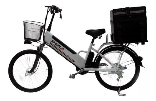 Imagen 1 de 10 de Bicicleta Electrica Para Delivery Wheele Modelo Cargo
