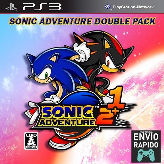 Sonic Adventure 1 E 2 - Jogos Ps3 Play3