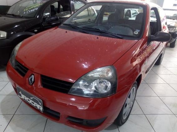 Renault Clio Campus 1.0 Hatch Vermelho Dianteira Am/fm