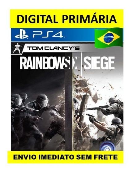 Rainbow Six Siege Ps4 Psn1 Digital Primária - Envio Imediato