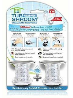 Tubshroom Cromado Edition Revolucionario Protector De Dren H