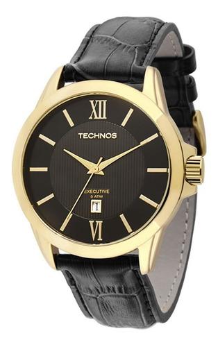 Relógio Technos Masculino Classic Executive 2115knh/0p