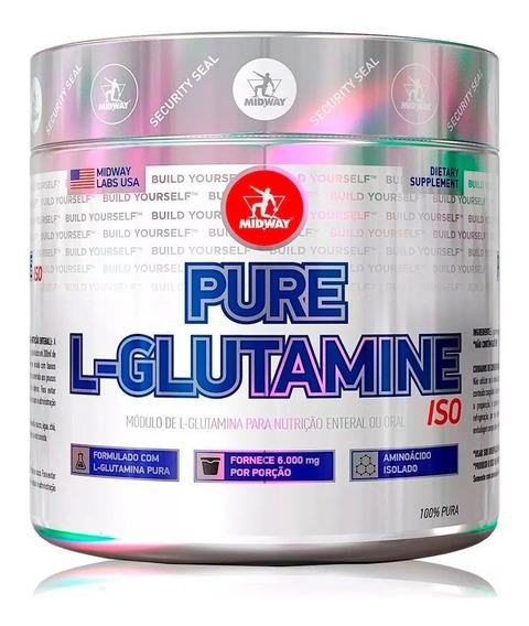 Glutamina Pura Powder 100g Isolates - Midway Labs