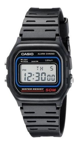 Reloj Casio W-59-1v Sumergible 50m  Vintage Retro Original
