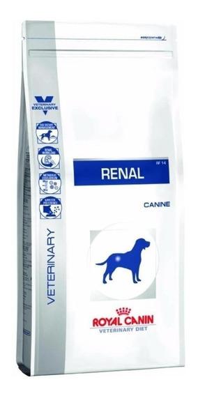 Ração Royal Canin Renal Veterinary Diet Canine cachorro adulto todos os tamanhos mix 2kg
