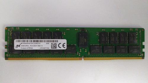 Memoria Ram Ddr4 32gb 2rx4 Pc4-2933y-rb2-12 Ecc Micron