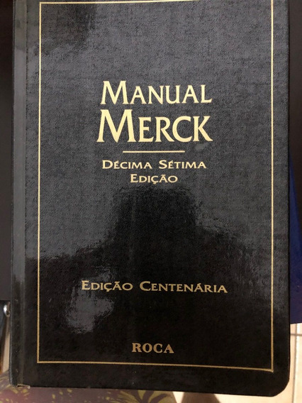 Livro - Manual Merck - 17ª Edição
