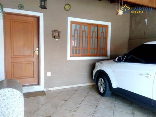 Casa Com 2 Dormitórios À Venda, 75 M² Por R$ 424.000,00 - Jardim Alvinópolis - Atibaia/sp - Ca2018