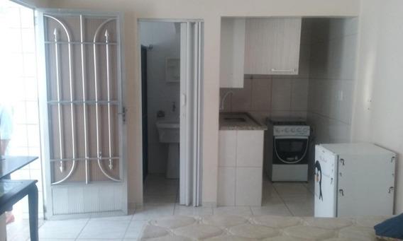 Kitnet Com 1 Dormitório À Venda, 30 M² Por R$ 118.000,00 - Canto Do Forte - Praia Grande/sp - Kn0625