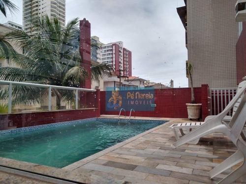 Imagem 1 de 30 de Apartamento Com 2 Dormitórios À Venda, 70 M² Por R$ 350.000,00 - Canto Do Forte - Praia Grande/sp - Ap0467