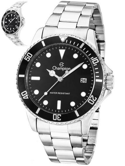 Relógio Champion Masculino Prateado Ca31266t