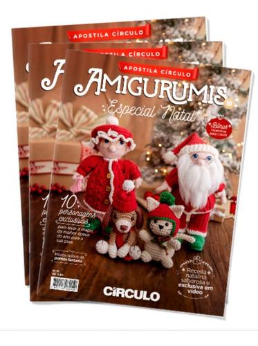Revista Receitas Amigurumis Edição Natal Círculo Crochê