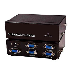 Distribuidor Video Vga Splitter Divisor 4 Sinal Monitor