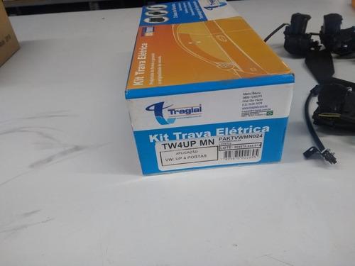 Kit Trava Eletrica Especifica Up 4 Portas Tragial Novo