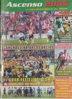 Revista Ascenso N°462.comu,temperley,los Andes,liniers