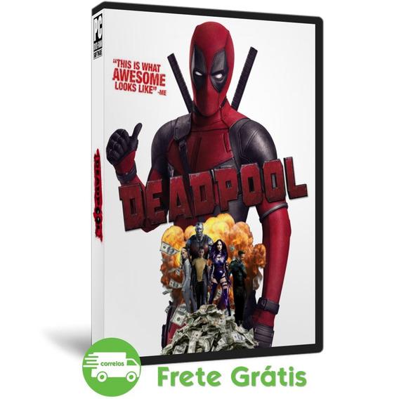 Deadpool Pc Em Português Mídia Física Jogo Do Filme ( Dvd )