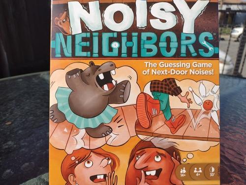 Juego De Mesa En Inglés Noisy Neighbors Aprendizaje